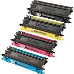 Compatible Brother© TN115-AVP [Value Pack] B,C,M,Y Toner Cartridges