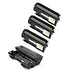 Compatible Brother 400/460-AVP [Value Pack] 1-Drum, 3 Toner Cartridges