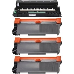 Compatible Brother 720/750-AVP [Value Pack] 1-Drum, 3 Toner Cartridges