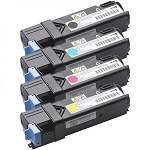 Compatible Dell 2135-AVP [Value Pack] B,C,M,Y Toner Cartridges