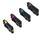 Compatible Dell 2660-AVP [Value Pack] B,C,M,Y Toner Cartridges