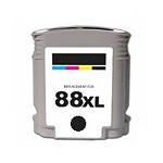 Remanufactured Ink Cartridge for HP© C9396AN [88XL] Black