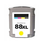 Remanufactured Ink Cartridge for HP© C9393AN [88XL] Yellow