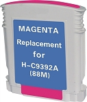 Remanufactured Ink Cartridge for HP© C9392AN [88XL] Magenta