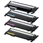 Compatible Dell 1230-AVP [Value Pack] B,C,M,Y Toner Cartridges