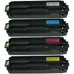 Toner Cartridges Compatible with Samsung 504-AVP [Value Pack] B,C,M,Y