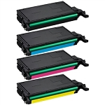 Toner Cartridges Compatible with Samsung 508-AVP [Value Pack] B,C,M,Y