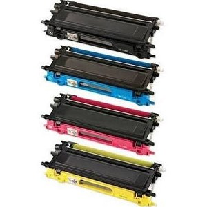 Compatible Brother© TN210-AVP [Value Pack] B,C,M,Y Toner Cartridges