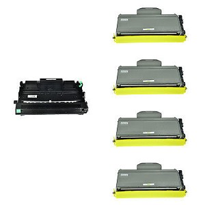 Compatible Brother 350-AVP [Value Pack] 1-Drum, 4 Toner Cartridges