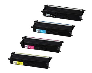 Compatible Brother© TN433-AVP [Value Pack] B,C,M,Y Toner Cartridges